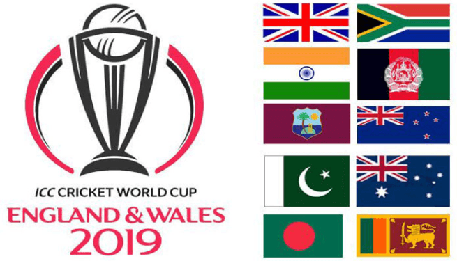 World Cup 2019 Schedule & Time Table