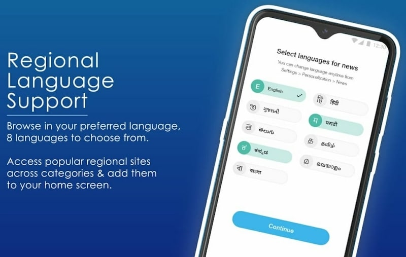 Jio pages language support jiopages