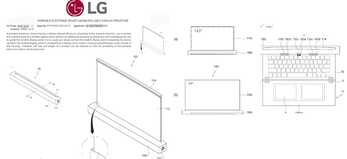 9c7d7ffa02e378299c757f9b12e1b4eb-3 LG Could Have a 17-Inch Rollable Laptop within the Works, Patent Suggests