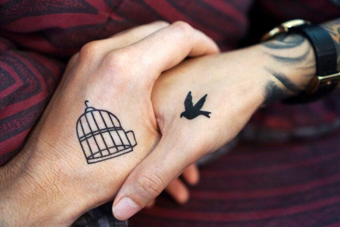 tattoo, hand, hands