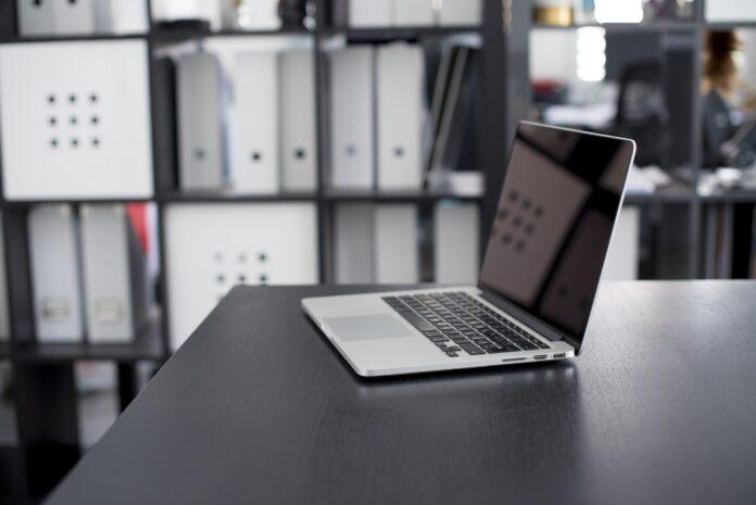 laptop, apple, computer